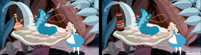 Citaten Uit Alice In Wonderland : Sambal disney legt figuren een rookverbod op